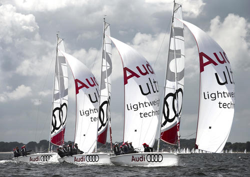 B/one boats in Audi colours