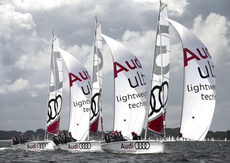 B/one-Boote im Audi-Design