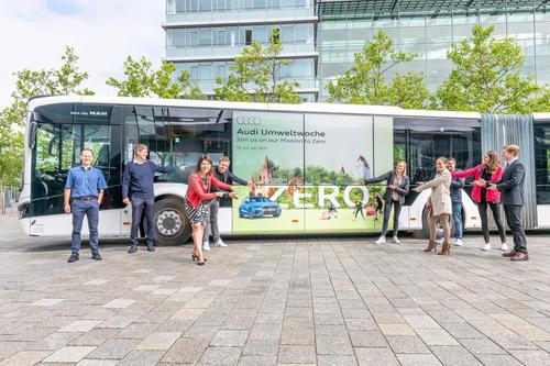 """Unter dem Motto """"Join us on our mission to zero"""" richtet Audi vom 19. bis 23. Juli die """"Audi Umweltwoche"""" aus."""