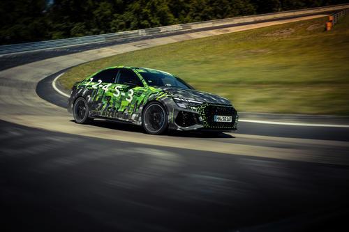 Audi RS 3 Rekordfahrt Nürburgring Nordschleife