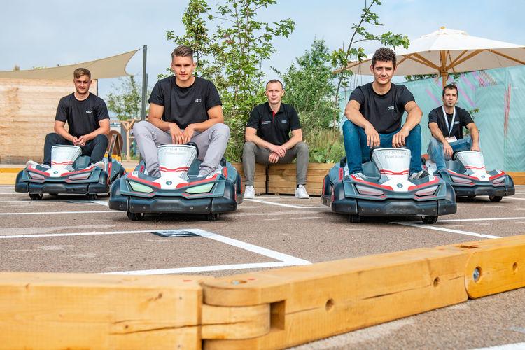 Nachhaltig und dynamisch: Audi-Azubis zeigen Umweltideen auf der Landesgartenschau