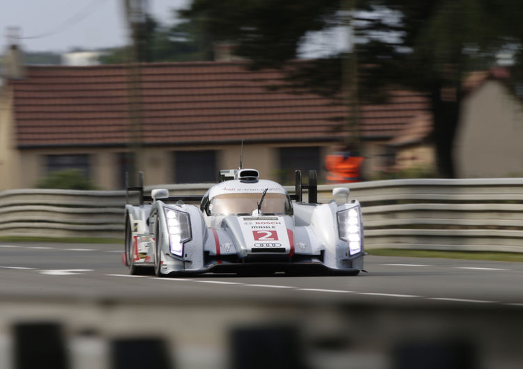 Audi beats best time from last year