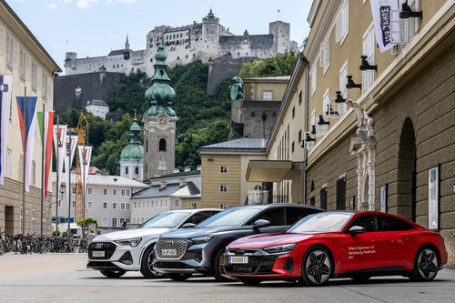 """Audi macht die Geschichte der Salzburger Festspiele """"erfahrbar"""""""