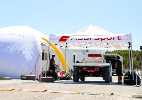 Dakar Test Zaragoza