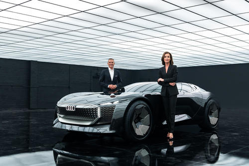 Die Online-Weltpremiere des Audi skysphere concept