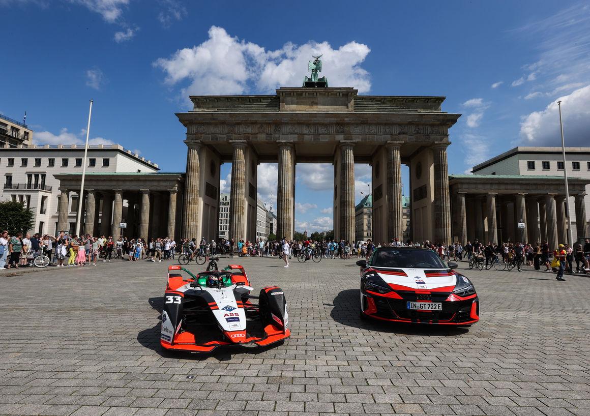 Audi electrifies Berlin