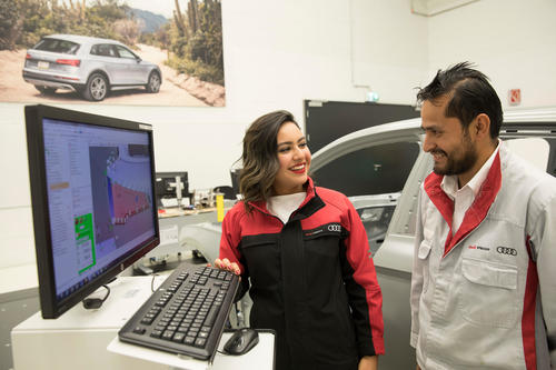 Audi México is recognized as the number one automotive company in the Universum ranking