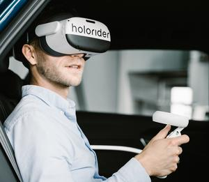 Virtual reality entertainment holoride on the road to series maturity