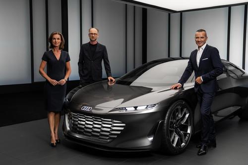 Weltpremiere Audi grandsphere concept – Celebration of Progress