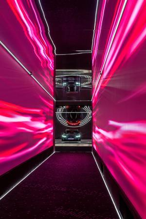 Audi A6 e-tron concept at Milan Design Week