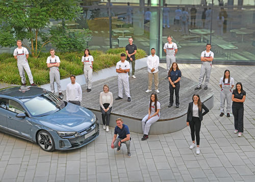 Vocational training at Audi: launching the careers of tomorrow