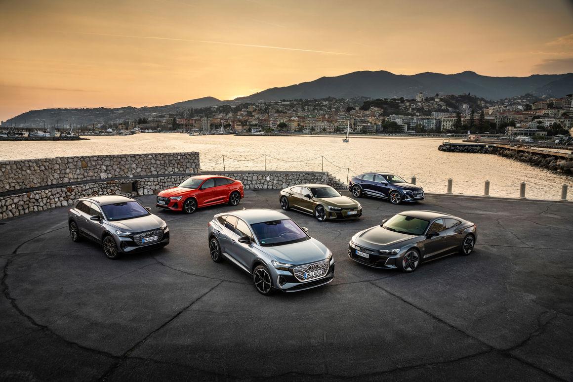 In search of driving pleasure: quattro drive and suspension of the Audi e-tron