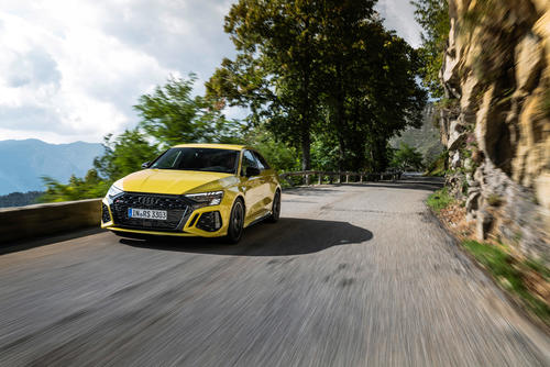 2.5 TFSI: Audi's most powerful series five-cylinder