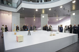 Jürgen Partenheimer pays Audi a visit