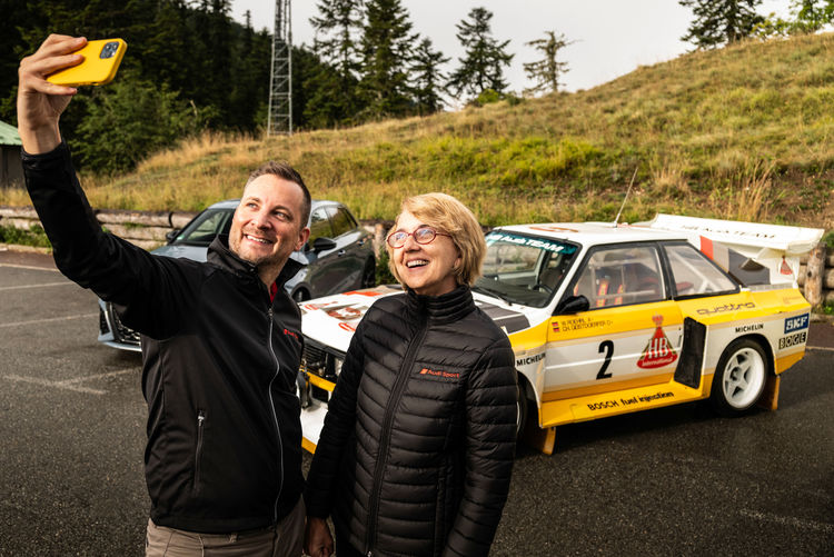"""Rally co-driver Fabrizia Pons: """"The quattro has never lost its grip on me"""""""