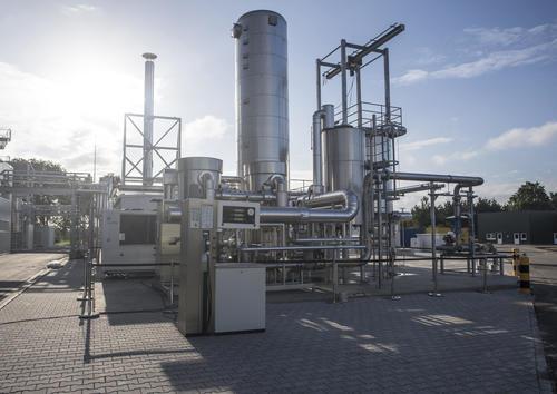 Audi e-gas Anlage in Werlte