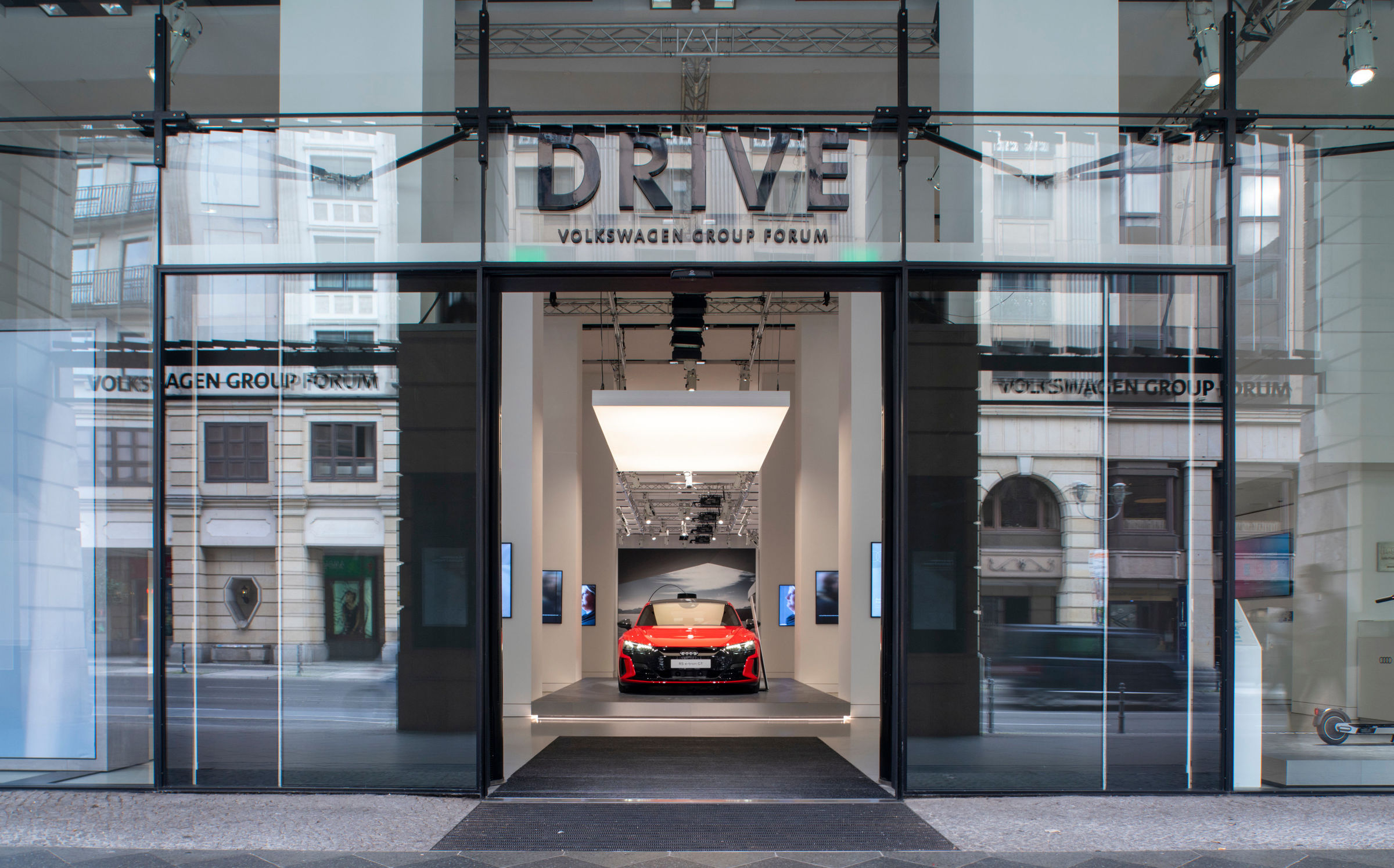 Audi opens a brand exhibition at DRIVE. Volkswagen Group Forum - Image 1