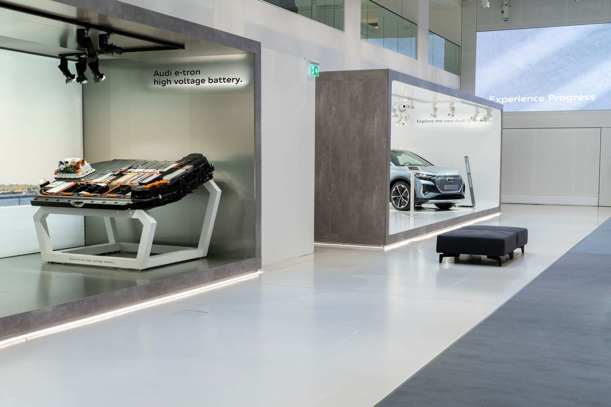 Audi opens a brand exhibition at DRIVE. Volkswagen Group Forum - Image 2