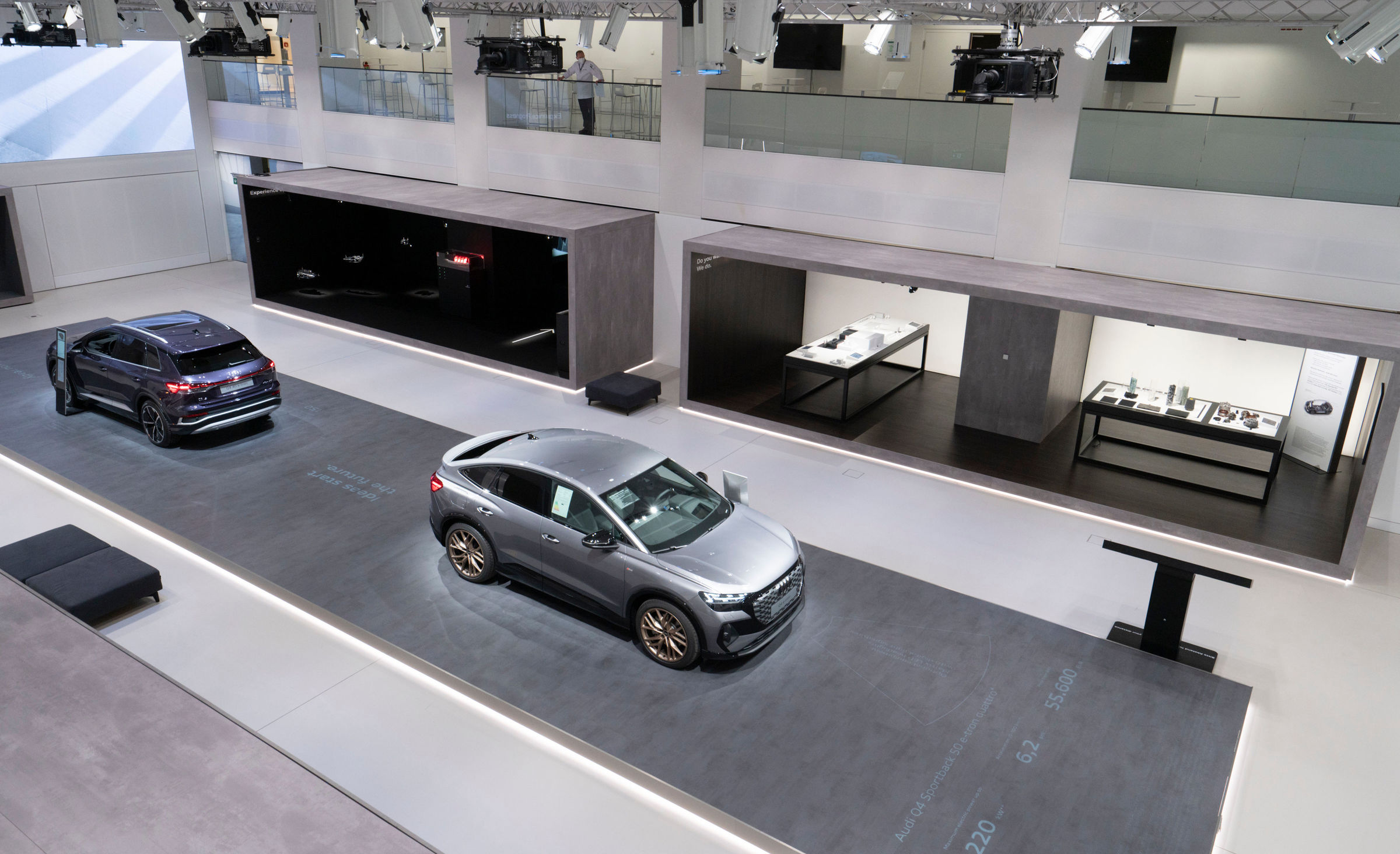 Audi opens a brand exhibition at DRIVE. Volkswagen Group Forum - Image 3
