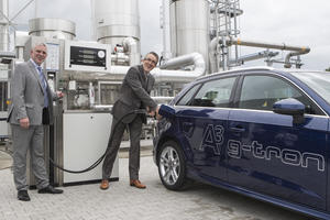 Audi e-gas Anlage in Werlte