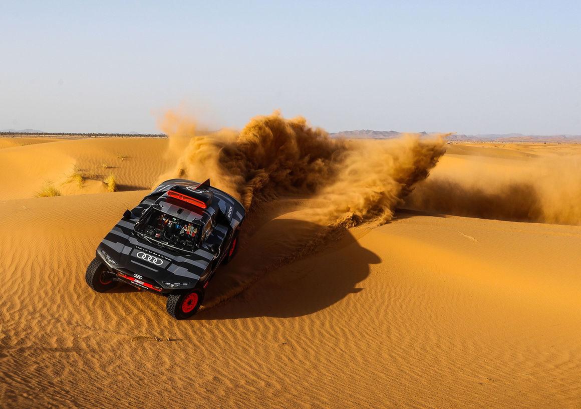 Dakar Test Marokko