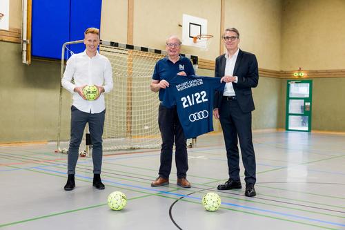 Audi unterstützt Sportvereine in der Region