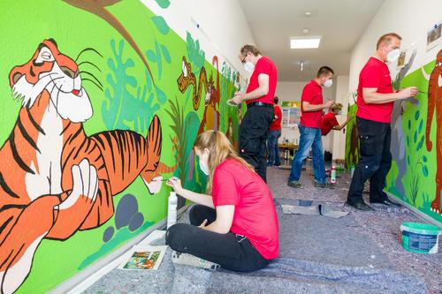 Audi Freiwilligentag 2021 digital und analog: Mitarbeitende helfen in Ingolstadt und Neckarsulm