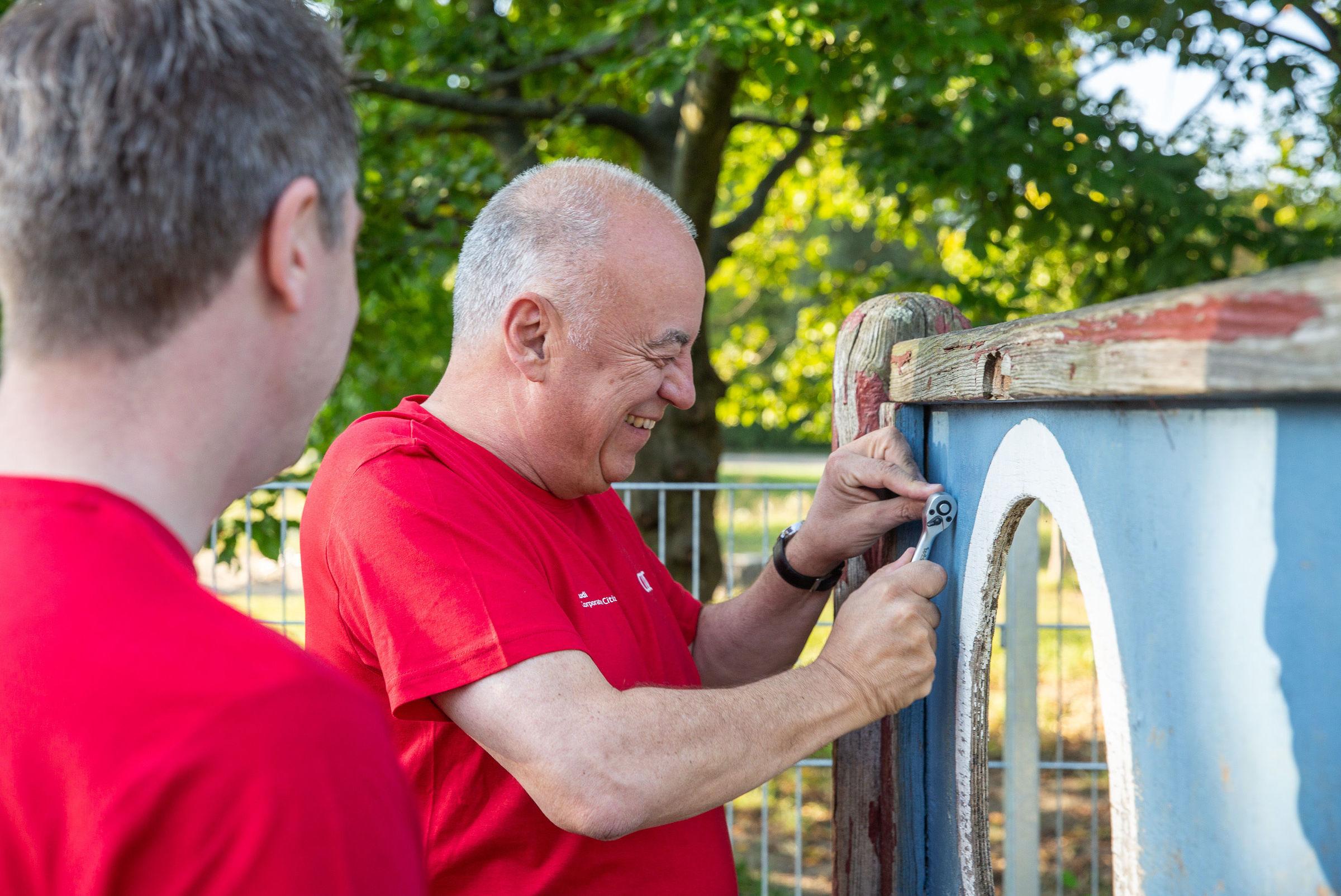 Audi Volunteer Day 2021, digital and analog: employees help in Ingolstadt and Neckarsulm - Image 3