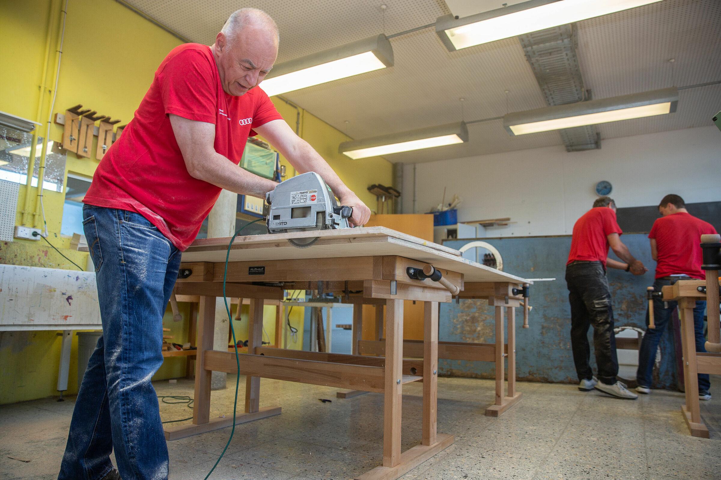 Audi Volunteer Day 2021, digital and analog: employees help in Ingolstadt and Neckarsulm - Image 4