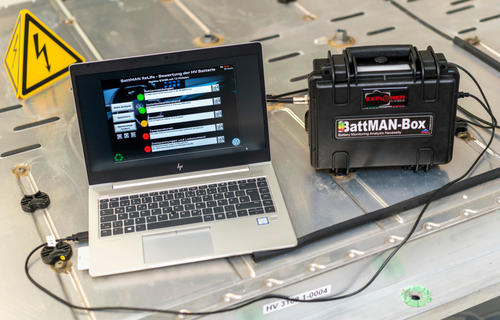 Second life or recycling? BattMAN rescues batteries from a needlessly short lifespan!