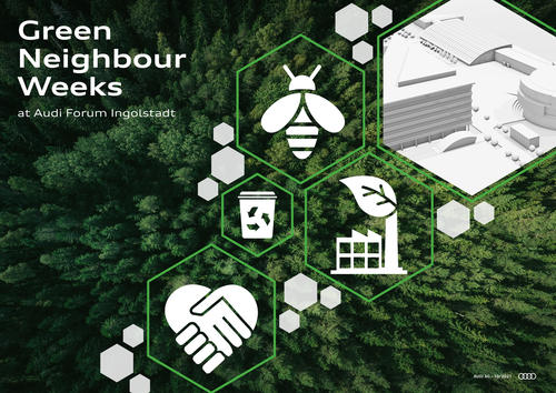 Green Neighbour Weeks at Audi Forum Ingolstadt