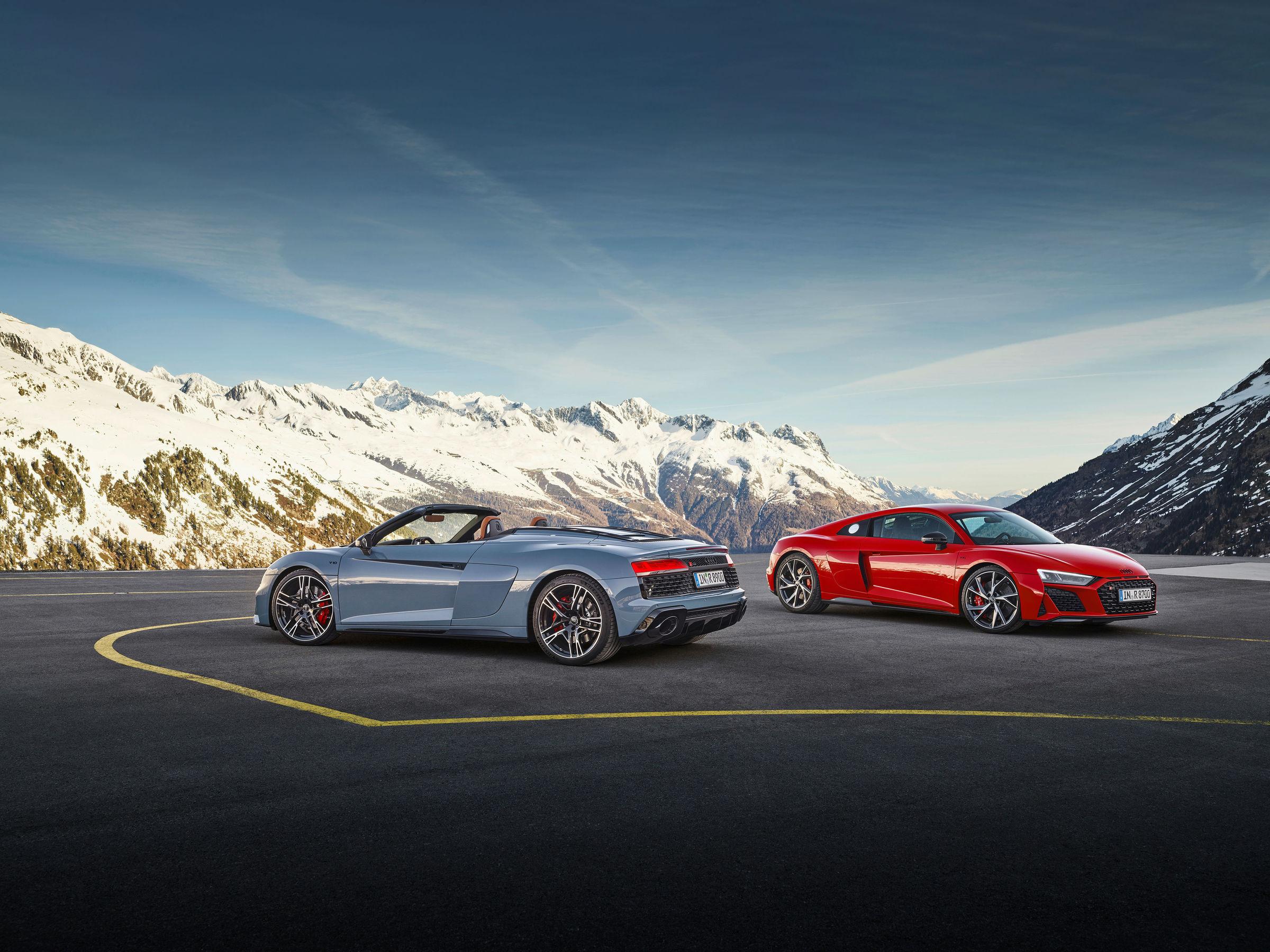 Audi R8 Spyder V10 performance RWD / Audi R8 Coupé V10 performance RWD