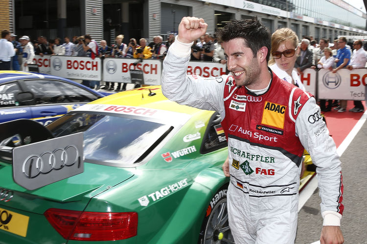 'Rocky' takes DTM lead for Audi