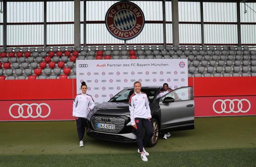 Audi wird Partner des Frauenfußballs beim FC Bayern München