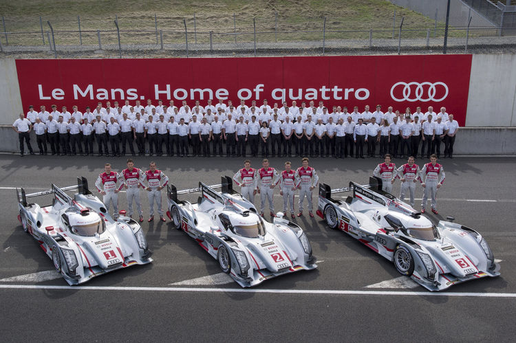 Audi aims for twelfth victory at Le Mans
