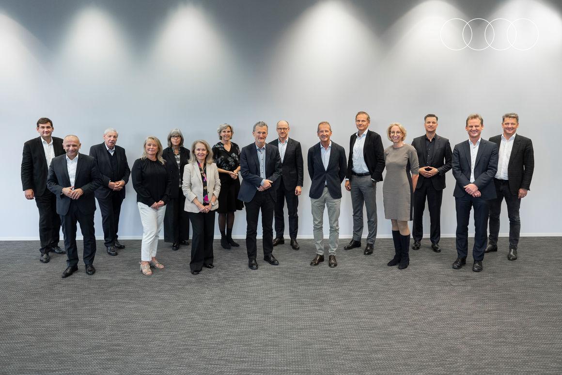Volkswagen Nachhaltigkeitsbeirat und Konzernvorstand diskutieren Schwerpunkte der Nachhaltigkeitsstrategie bei Audi