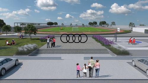 Audi México will sponsor a sports park in San José Chiapa