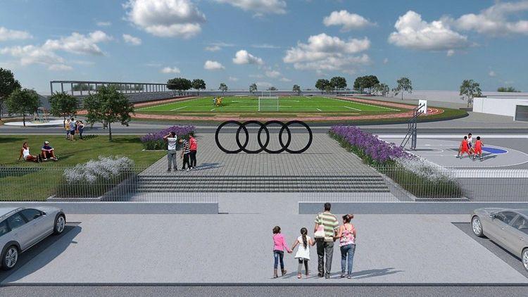Audi México sponsert Sportpark in San José Chiapa