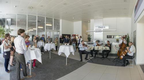 Audi Kunstraum für Kunden geöffnet