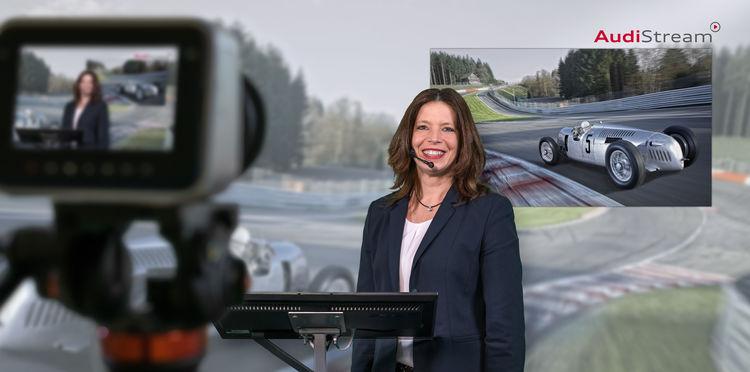 Zeitreise mit AudiStream: Neue Online-Führung macht Automobilgeschichte zum Erlebnis