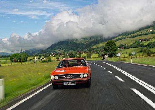 Audi Tradition feiert Heimspiel