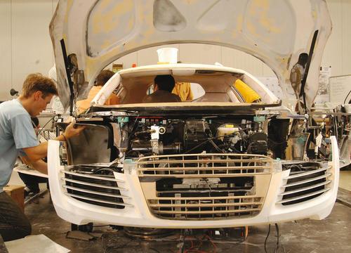 Making of des Audi Le Mans quattro: Blick in das Innenleben der Sportwagen-Studie