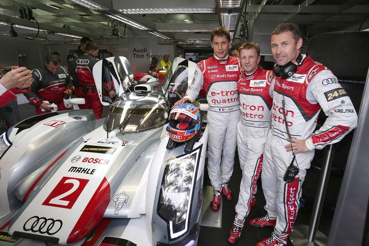Audi schließt Le-Mans-Vorbereitungen ab