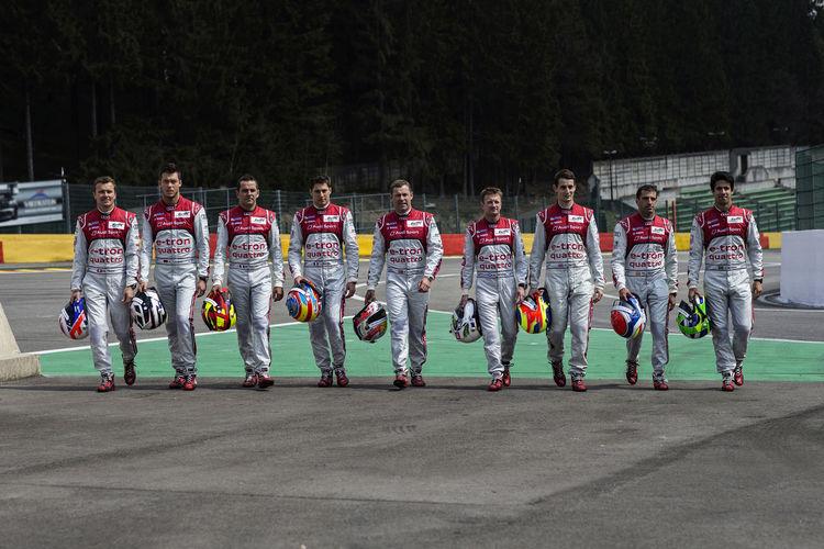 Audi in Le Mans: starke Charaktere vereint