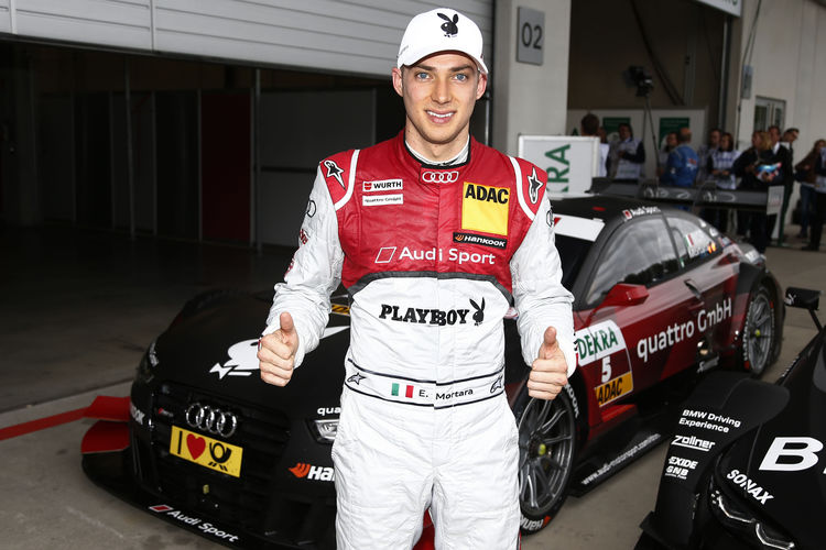 Edoardo Mortara takes grid position three for Audi