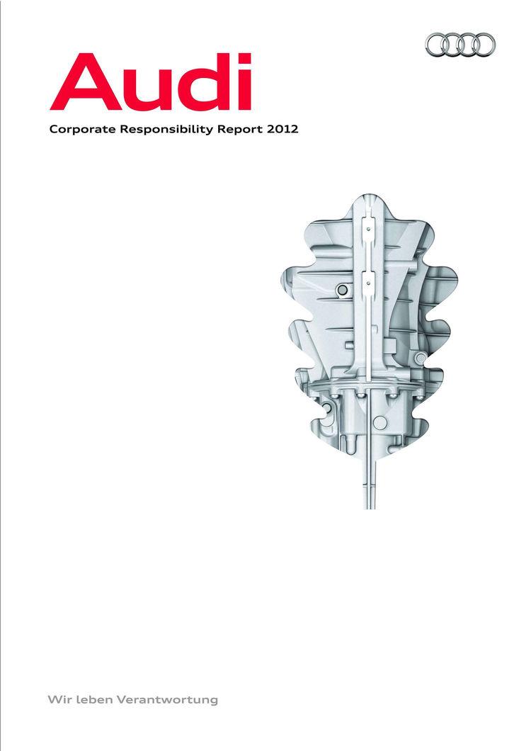 Audi veröffentlicht erstmals Corporate Responsibility Report