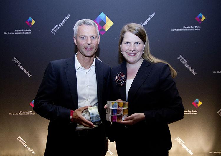 Audi gewinnt beim Deutschen Preis für Onlinekommunikation