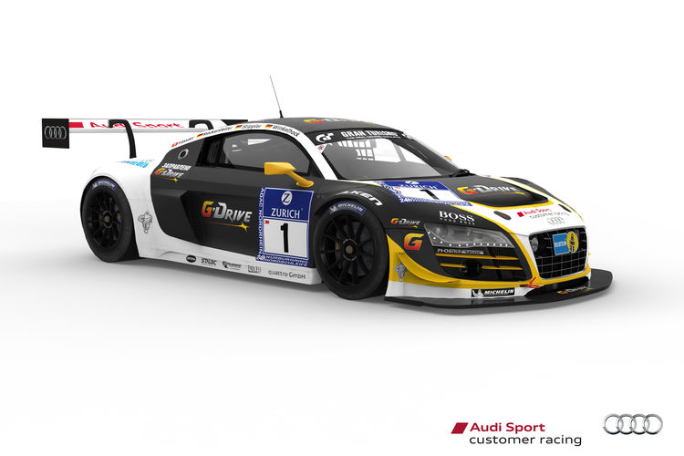 Audi customers aim for victory at the Nürburgring