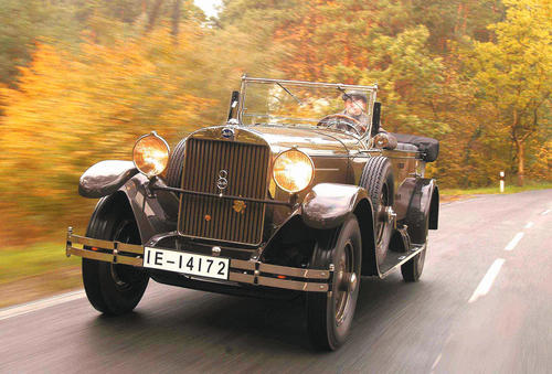 The first-ever large Audi: This restored Audi Imperator, an eight-cylinder model dating from 1929, is probably the only car of this type still in existence anywhere in the world