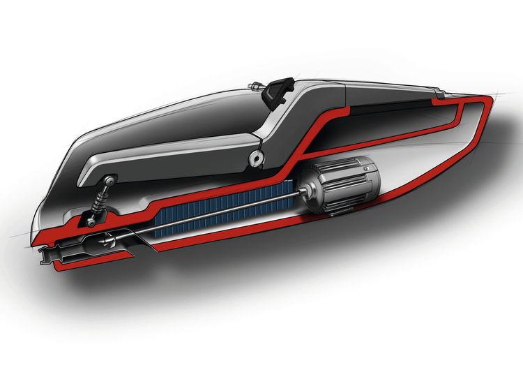 Audi Trimaran – Studentenprojekt im Konzept Design Studio in München